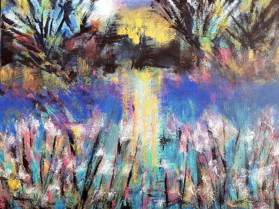 Lagoon Reflections by Nikki Dalton