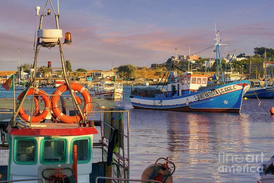 Lagos fishing boats at dusk by Mikehoward Photography