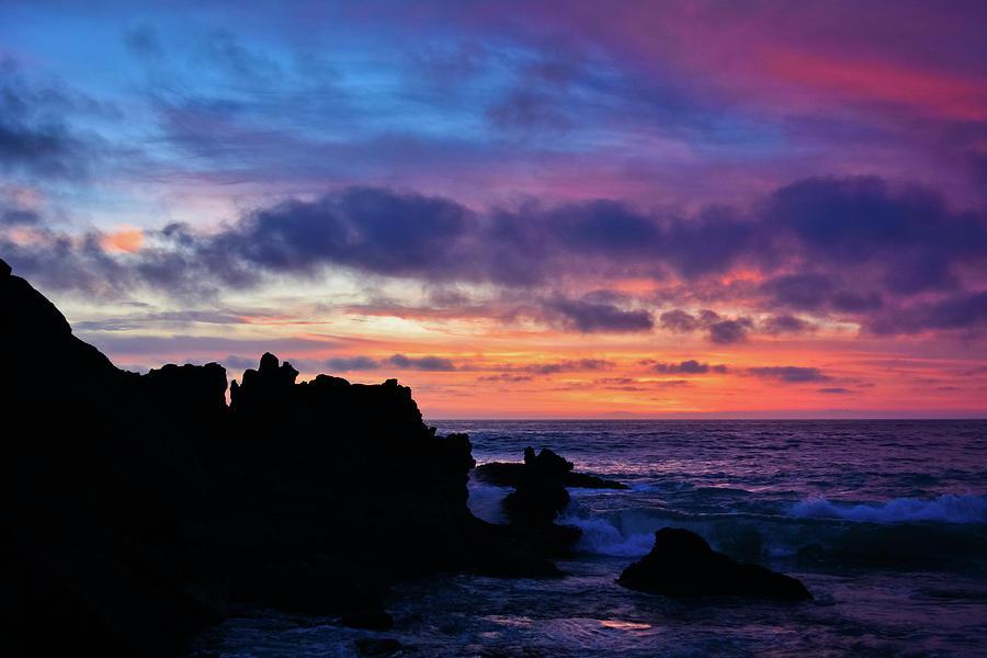 Laguna Beach Colorful Sunset by Kyle Hanson