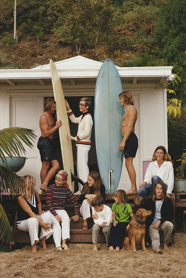 Laguna Beach Photograph by Slim Aarons