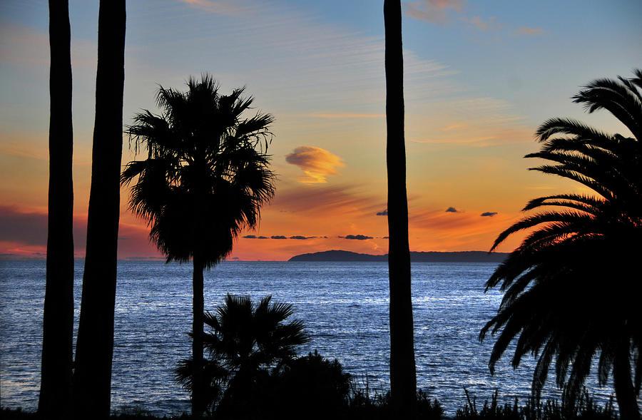 Laguna Beach Sunset Photograph by Mitch Diamond