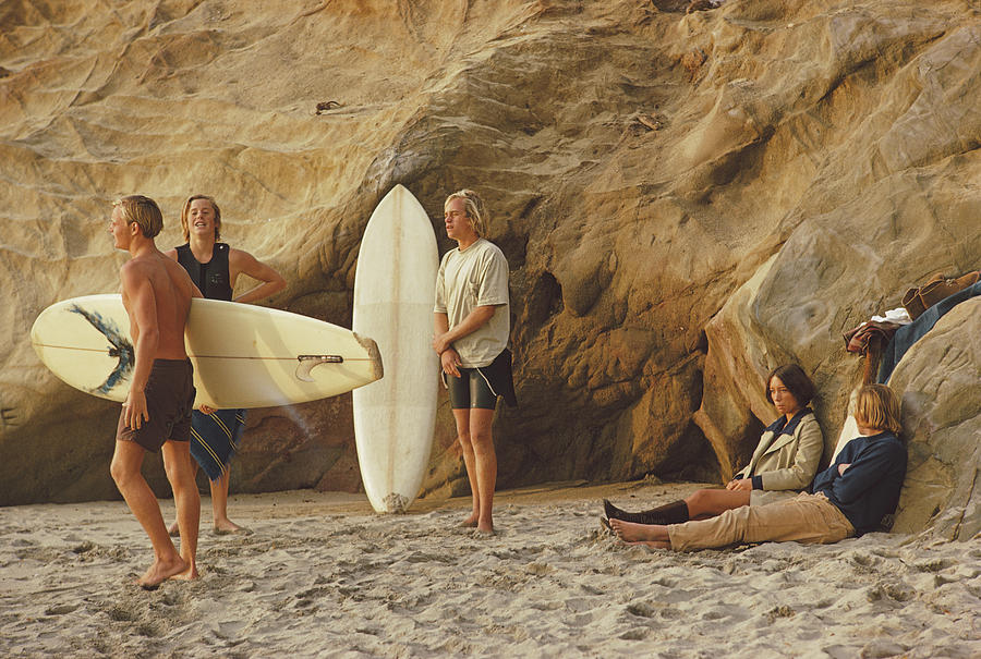 Young Men Photograph - Laguna Beach Surfers by Slim Aarons