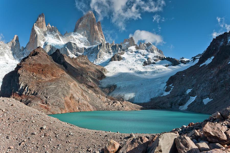 Laguna De Los Tres, El Chalten Photograph by Avinash Achar