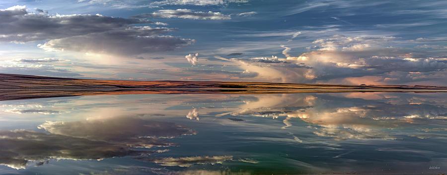 Alkali Lake Photograph - Lake Abert 4 by Leland D Howard