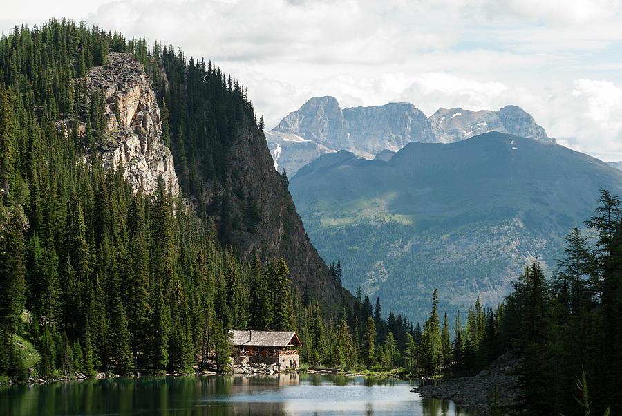 Lake Agnes Teahouse Photograph by John Elk Iii