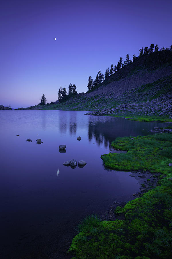 Lake Ann, Twilight by TM Schultze