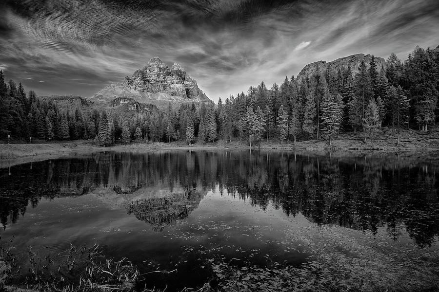 Lake Antorno in the Dolomites II by Jon Glaser