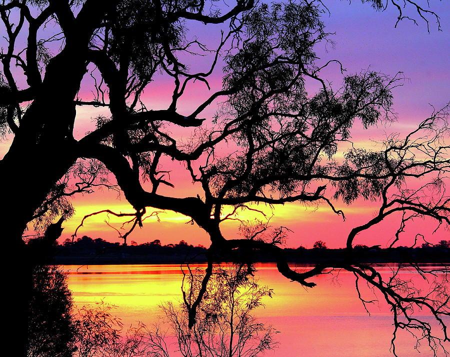 Lake Bonney Sunset by Elizabeth Anne