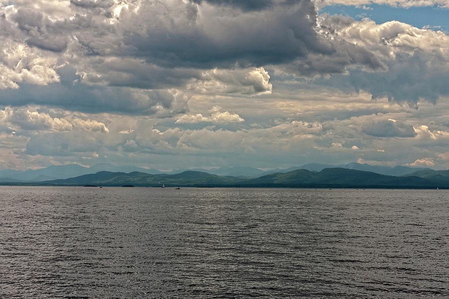 Lake Champlain And Adirondacks Photograph