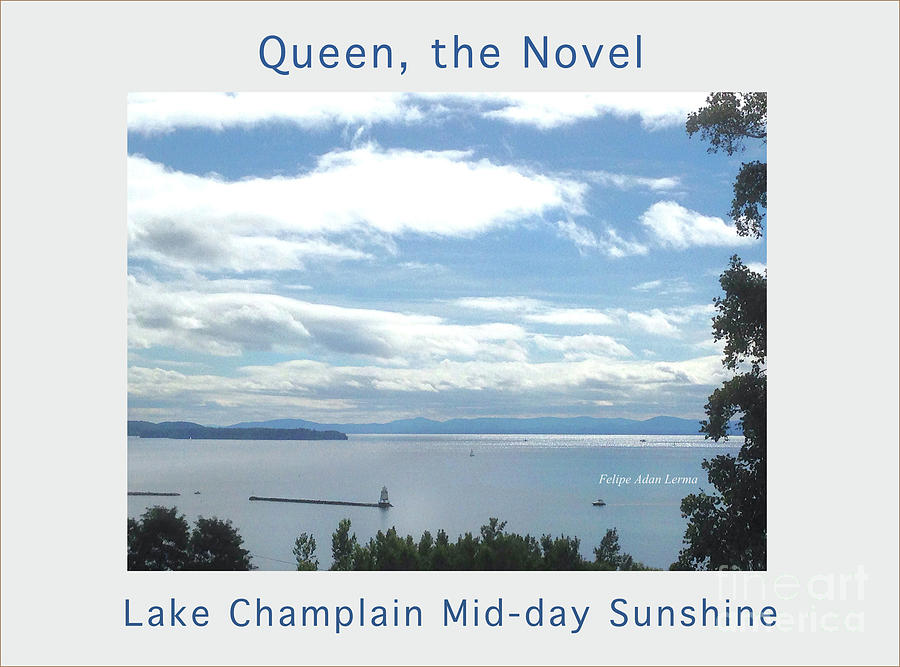 Lake Champlain Mid-day Sunshine Enhanced Poster by Felipe Adan Lerma