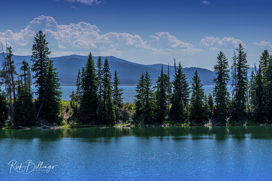 Lake Cody Wyoming No 1088 by Rick Billings