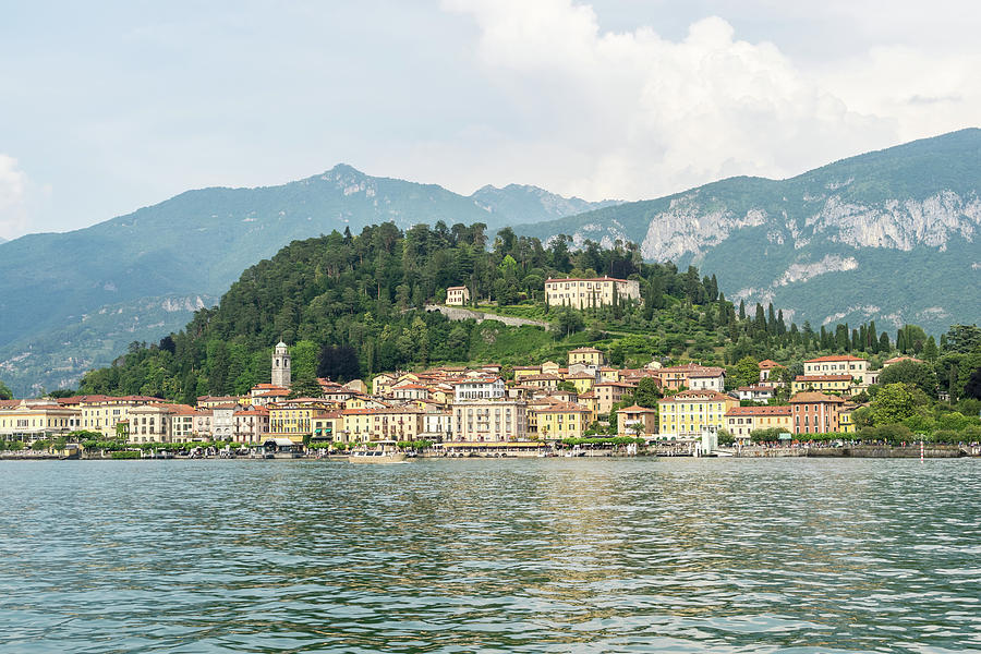 Lake Como Gems - Elegant Bellagio the Pearl of Lago di Como in Lombardy Italy by Georgia Mizuleva