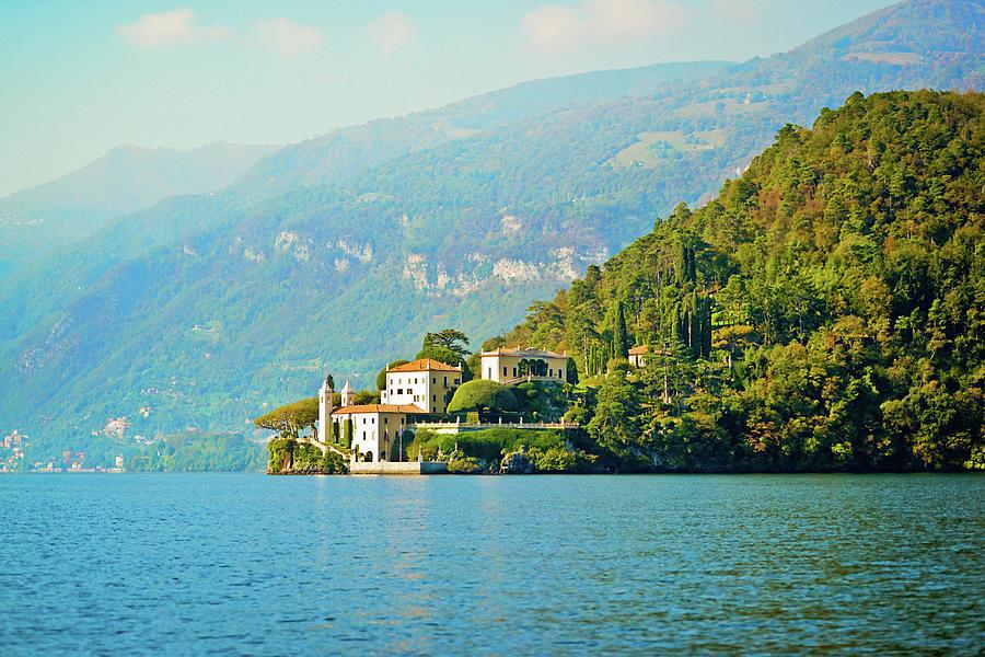 Lake Como Scenic Photograph by Anouchka