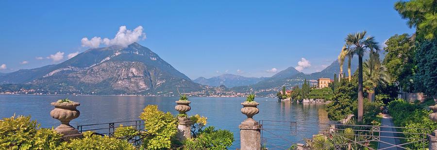 Lake Como, Varenna, Lombardy Photograph by Kathy Collins