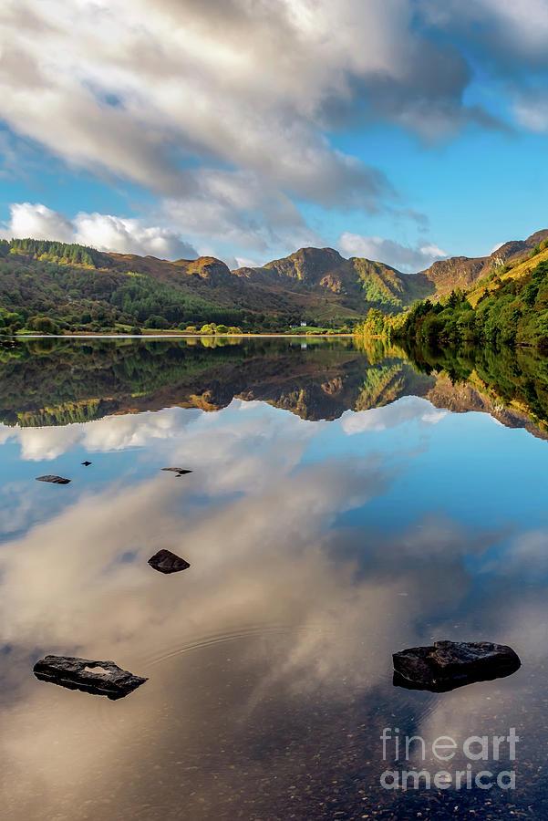 Snowdonia Photograph - Lake Crafnant Snowdonia by Adrian Evans