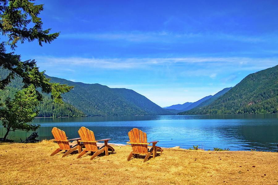 Lake Crescent Serenity by Carolyn Derstine