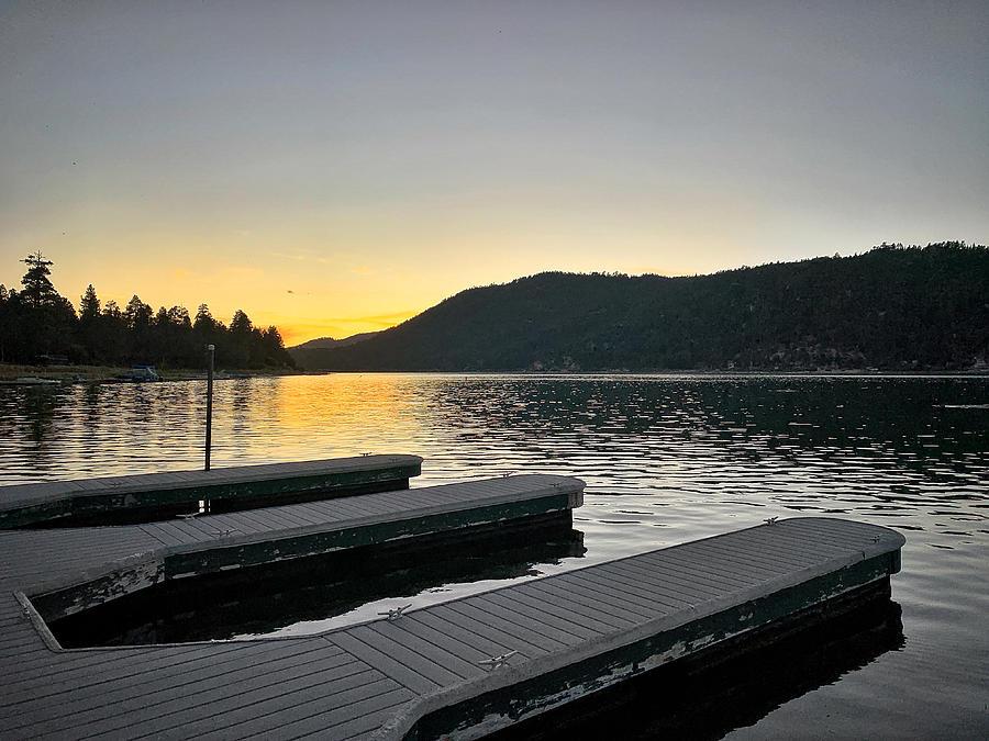 Lake Dock by Kevin Bergen