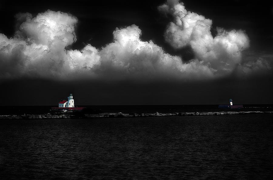 Lake Erie Port Of Entry Lighthouses by Dick Pratt