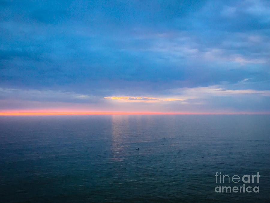 Lake Erie Summer Sunset Photograph