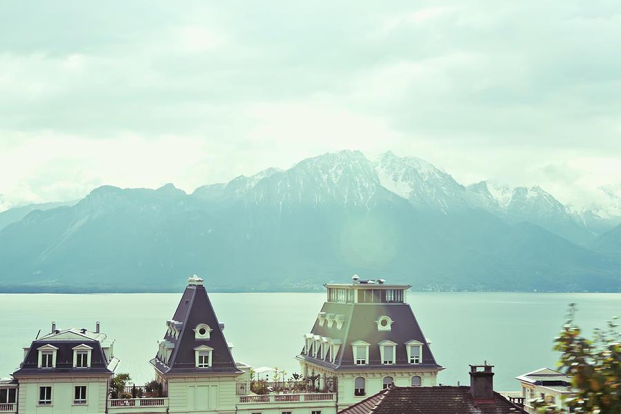 Lake Geneva, Lausanne, Switzerland Photograph by Chrispecoraro
