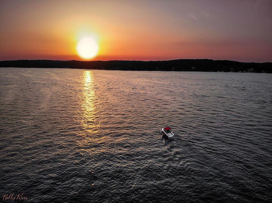Lake Geneva Sunset by Bobby King