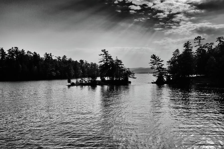 Lake George Light by David Patterson