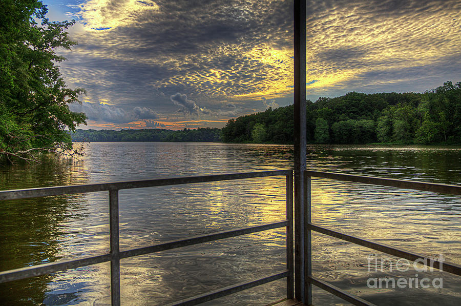 Hdr Photograph - Lake Girardeau Conservation Area  by Larry Braun