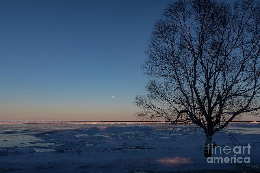 Lake Huron Winter Photograph