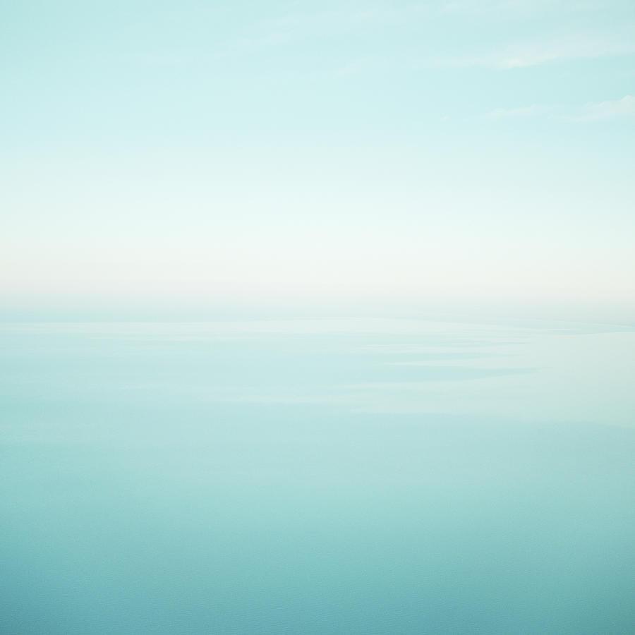 Lake In Haze Photograph by Lauren Burke