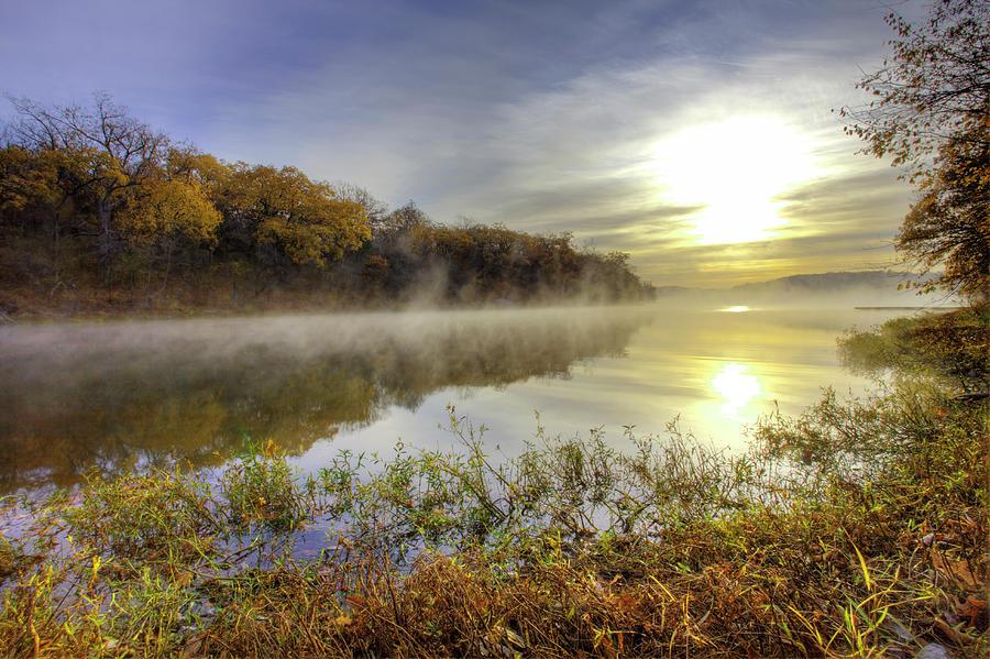 Lake Jacomo, Fleming Park, Kansas City Photograph by Danita Delimont