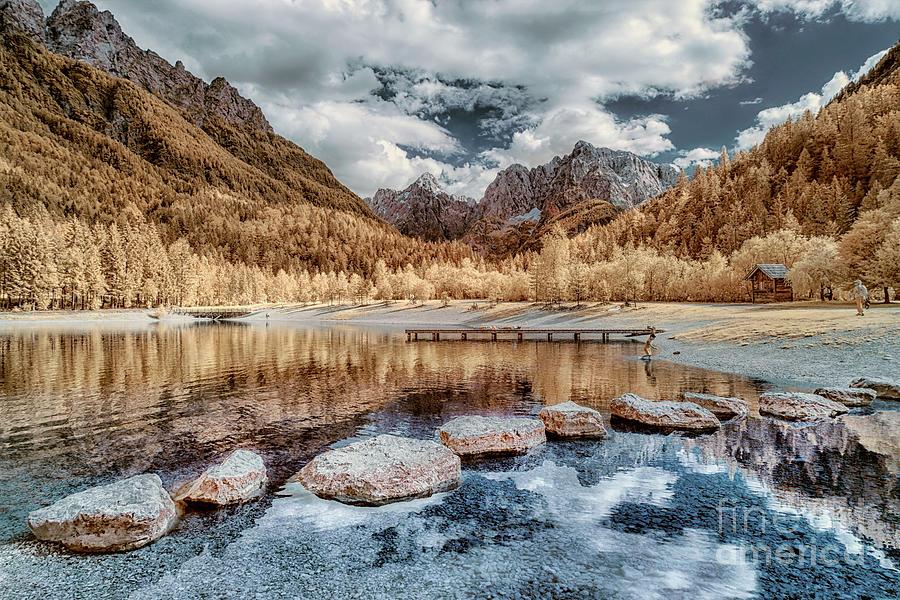 Lake Jasna In Infrared Photograph