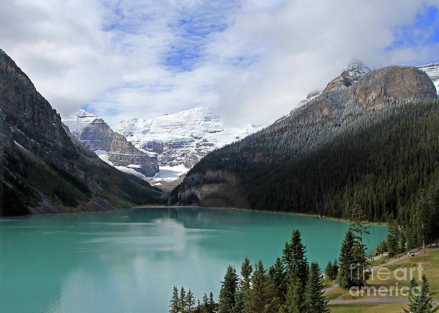Lake Louise  by Paula Guttilla