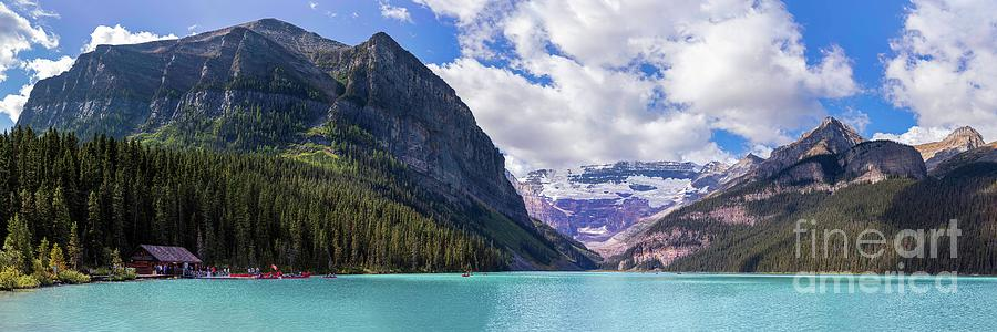 Lake Louise Super Panorama  by Alma Danison