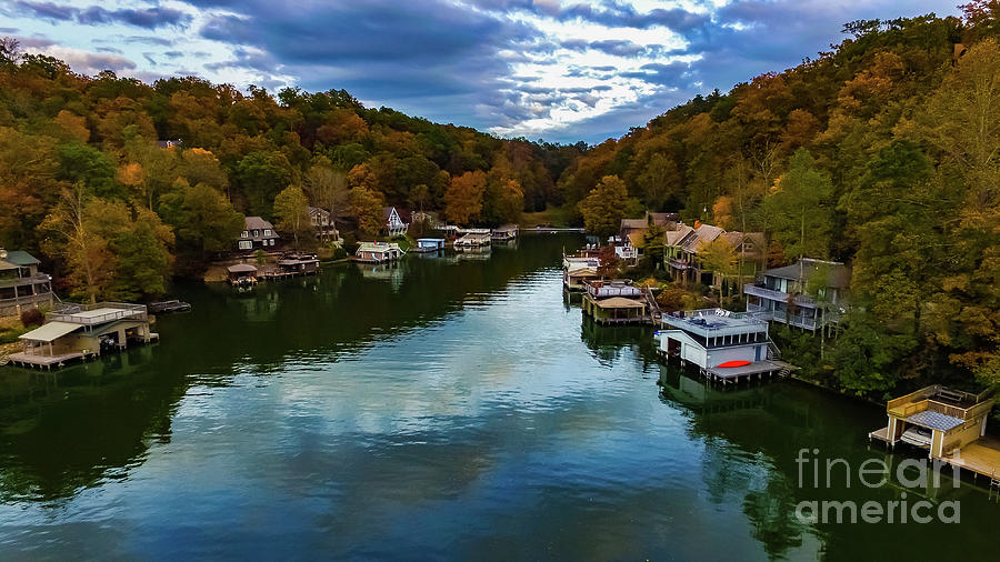 Lake Lure Fall by Buddy Morrison