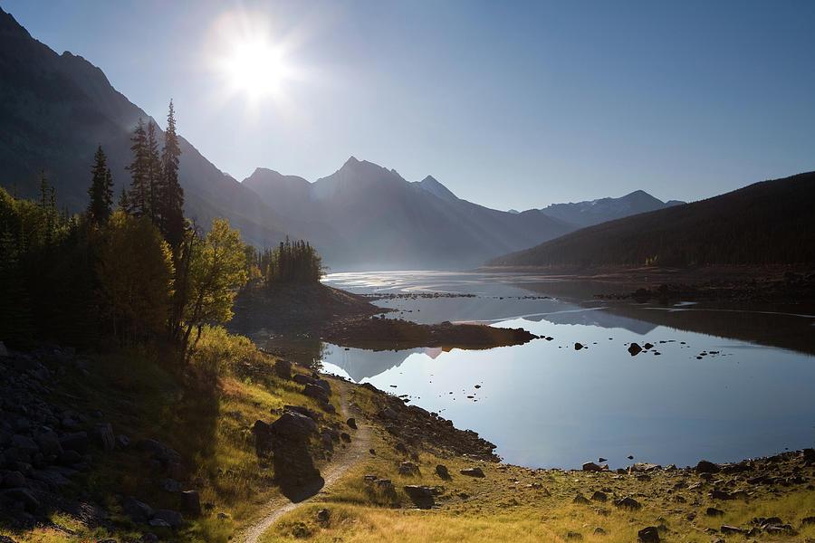 Lake Maligne - Jasper National Park Photograph by Ingmar Wesemann