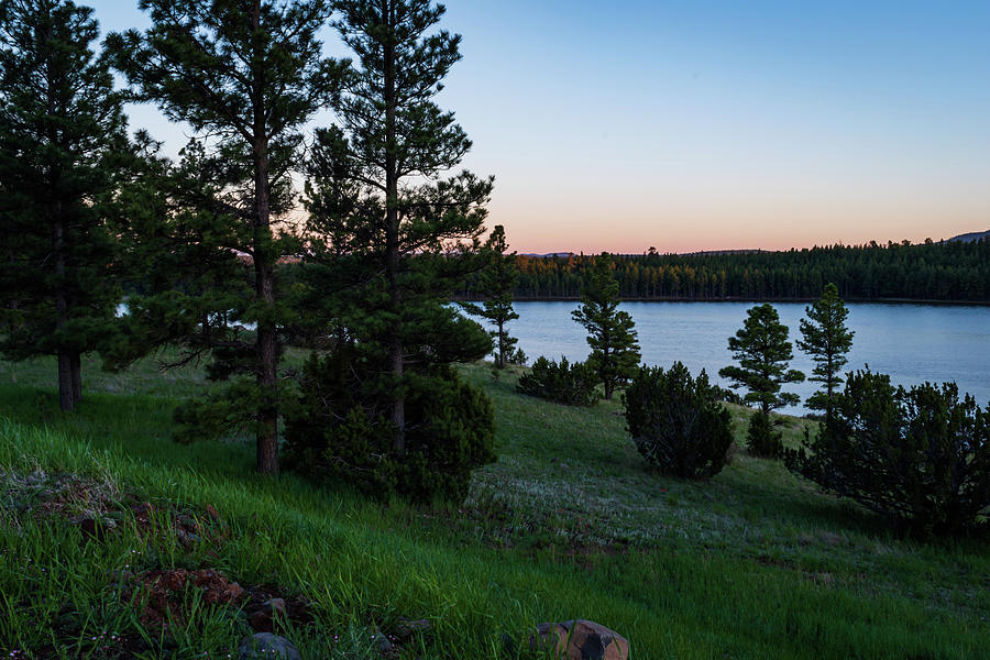Lake Mary at Twilight by Juliana Swenson