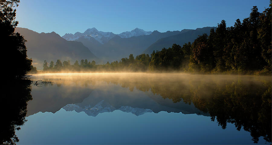 Lake Matheson Morning by Peter Kennett