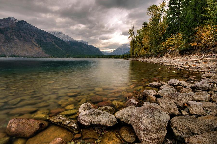 Lake Mcdonald Photograph by Mason Cummings
