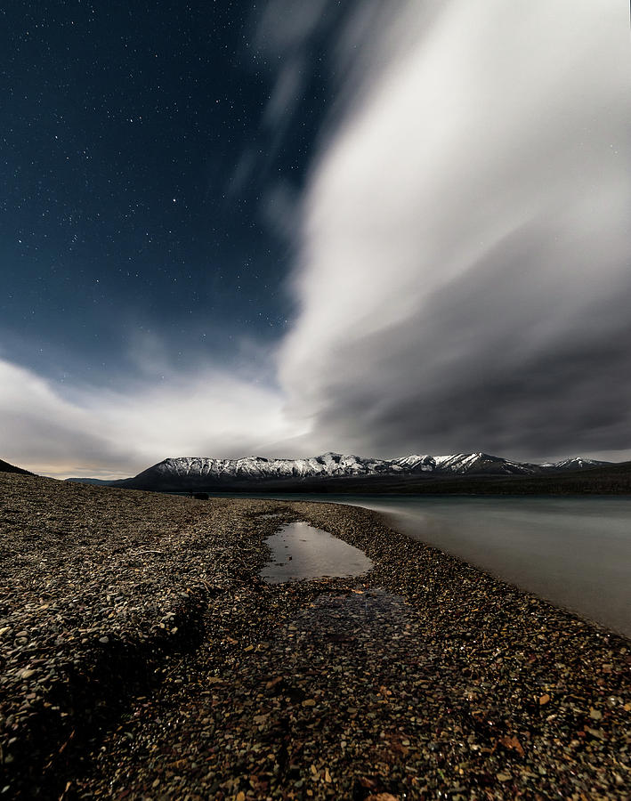 Lake Mcdonald Storm by Jake Sorensen