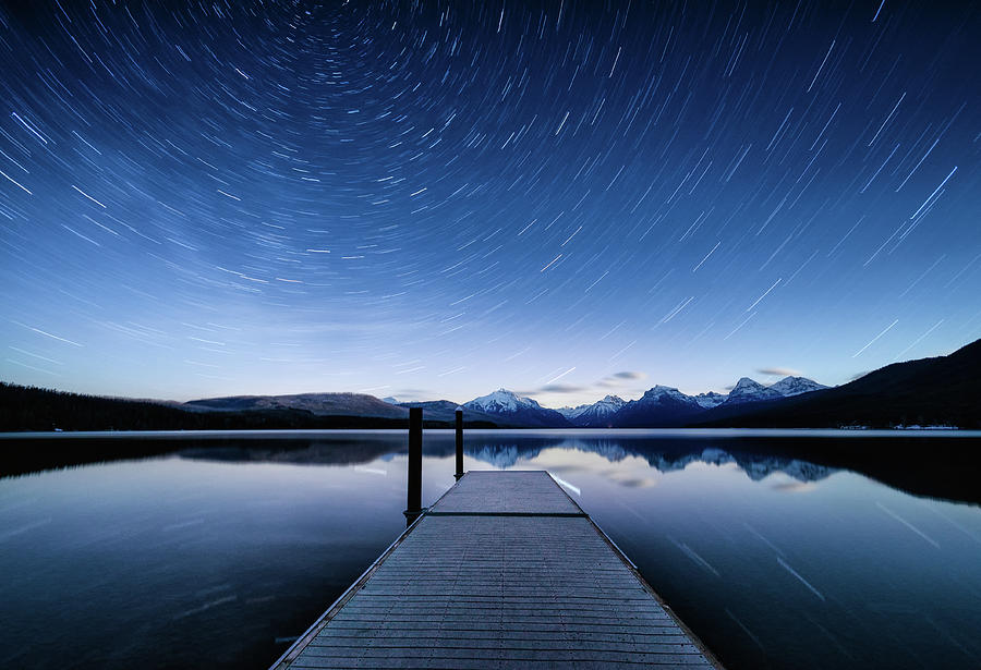 Lake McDonald Trails by Jake Sorensen