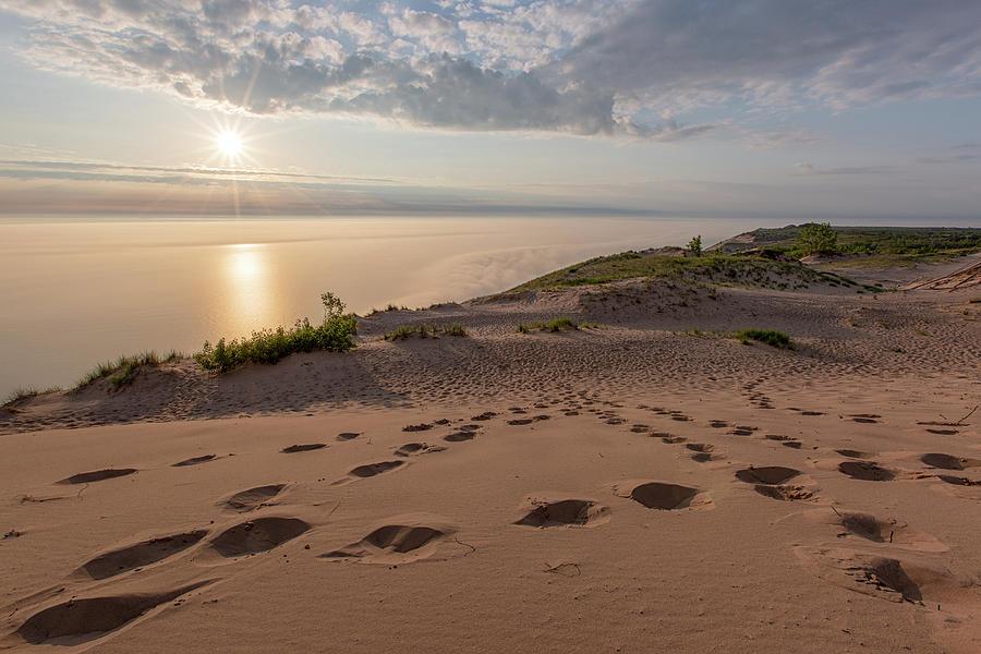 Lake Michigan Overlook 10 by Heather Kenward