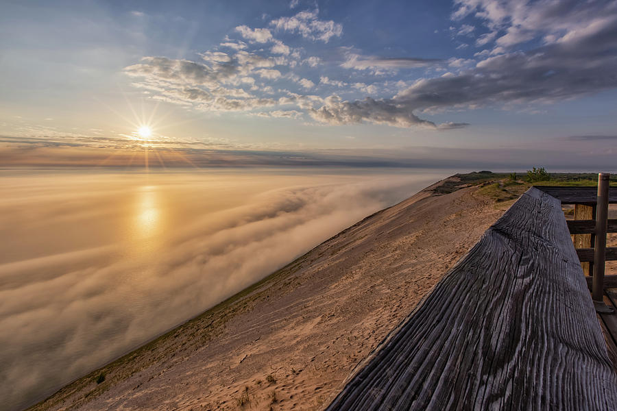 Lake Michigan Overlook 12 by Heather Kenward