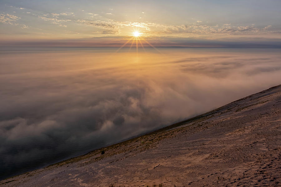 Lake Michigan Overlook 13 by Heather Kenward