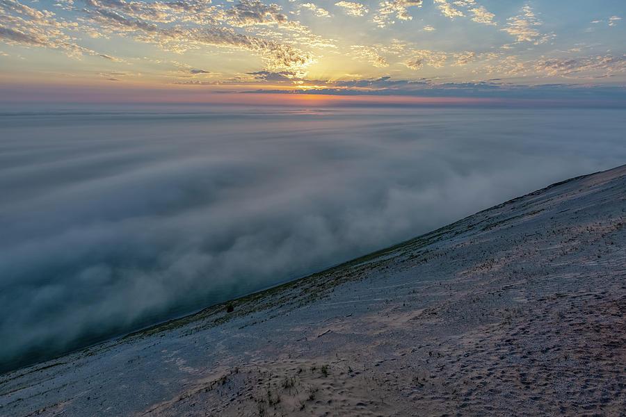 Lake Michigan Overlook 14 by Heather Kenward