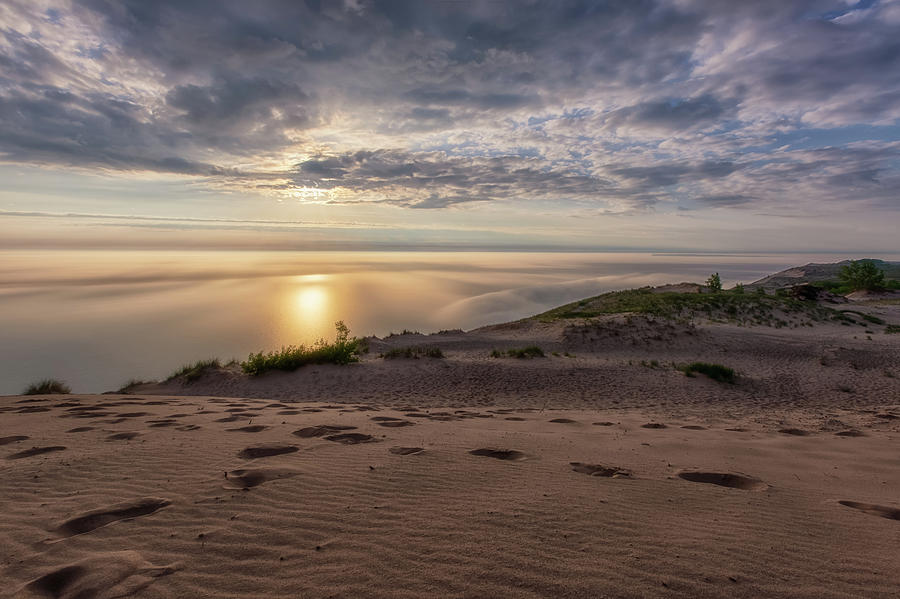 Lake Michigan Overlook 9 by Heather Kenward