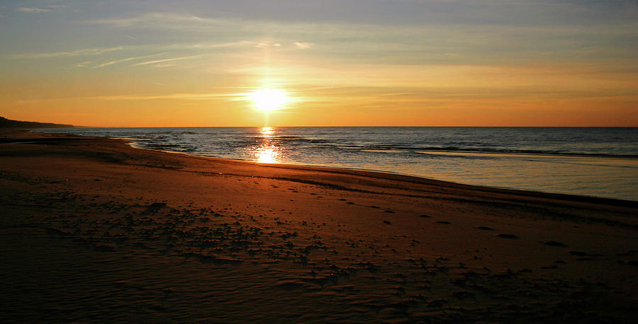 Lake Michigan Sunset Photograph by Ftwitty