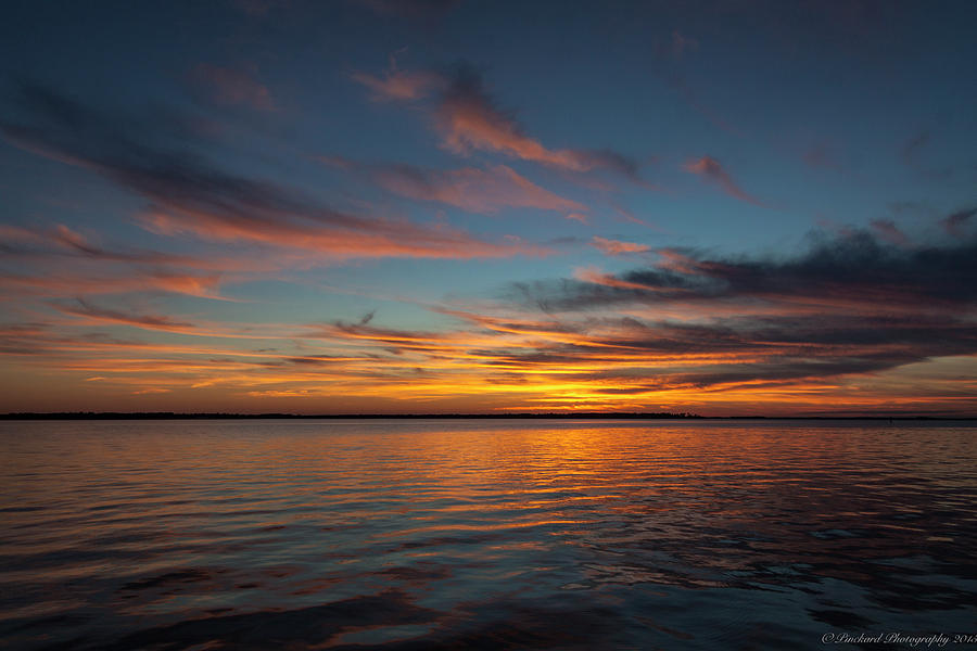 Lake Moultrie sunsets are visually stunning. by Timothy Pinckard