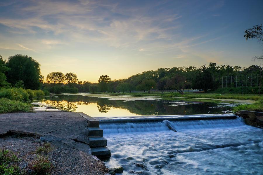 Lake Muhlenberg Dam by Jason Fink