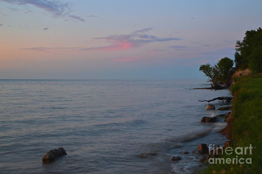 Lake Ontario Reverse Sunset Of June 16, 2019 by Sheila Lee