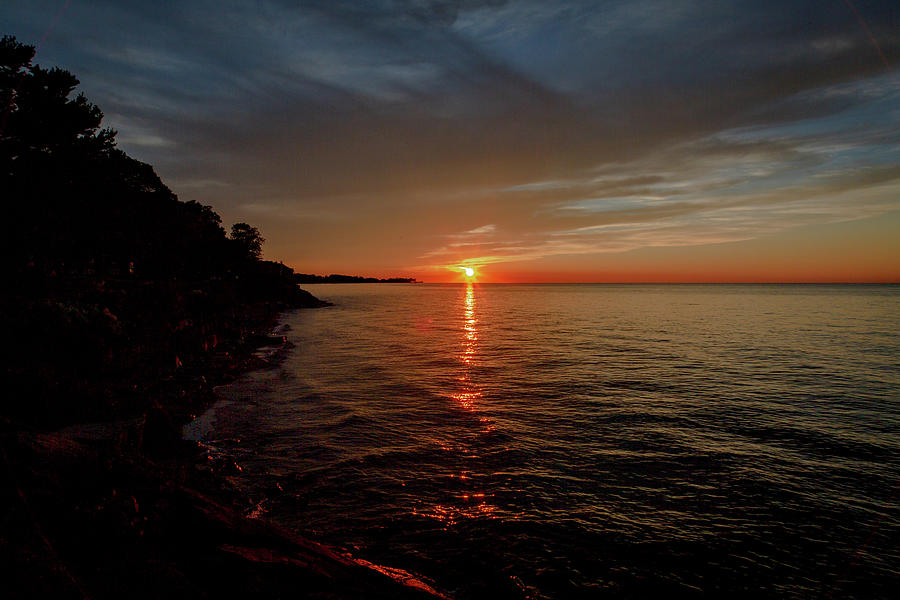Lake Ontario Sunset by Jack R Perry